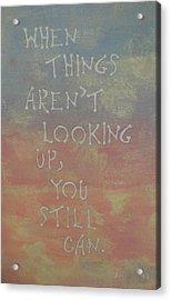 Inspiration I Acrylic Print