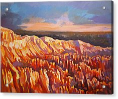 Inspiration Point - Bryce Canyon Acrylic Print by Filip Mihail