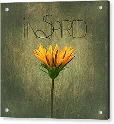 Inspired Acrylic Print