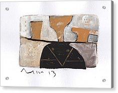 Instar No.6 Acrylic Print by Mark M  Mellon