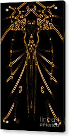 Acrylic Print featuring the digital art Instinct by Devin  Cogger