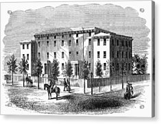 Acrylic Print featuring the painting Institute For Blind, C1850 by Granger