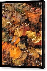 Instrument Abstract  Acrylic Print by Edward Hamm