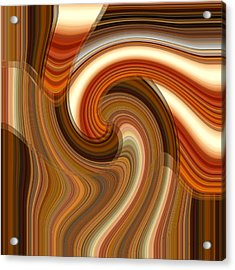 Acrylic Print featuring the digital art Integral Clarity by rd Erickson