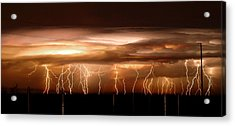 Intense Electrical Storm Acrylic Print