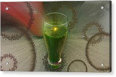 Intense Juicing Acrylic Print
