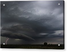 Intense Storm Cell Acrylic Print by Ryan Crouse