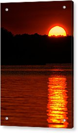 Intense Sunset Acrylic Print