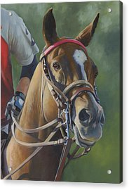 Acrylic Print featuring the painting Intensity by Alecia Underhill