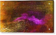 Intensity Golden Hue Acrylic Print by L J Smith