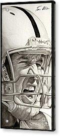 Intensity Peyton Manning Acrylic Print by Tamir Barkan