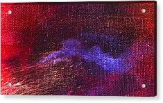 Intensity Red Hue Acrylic Print by L J Smith