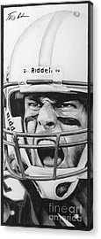 Intensity Tom Brady Acrylic Print