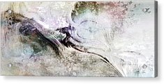 Intention - Abstract Painting Acrylic Print by Jean Moore