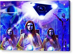 Interdimensional Guardians Acrylic Print