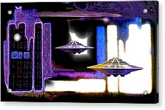 Interdimensional  Stargate Acrylic Print by Hartmut Jager