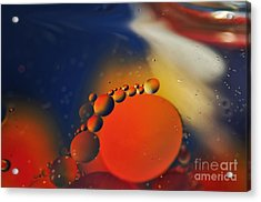 Intergalactic Space 2 Acrylic Print by Kaye Menner
