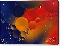 Intergalactic Space 3 Acrylic Print by Kaye Menner