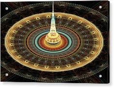 Intergalactic Transmission Acrylic Print