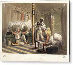 Interior Of A Tent Acrylic Print by British Library