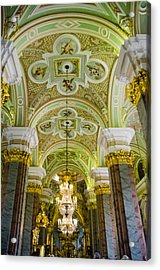 Interior Of Cathedral Of Saints Peter And Paul - St. Petersburg  Russia Acrylic Print