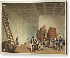Interior Of Distillery Acrylic Print