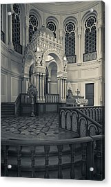 Interior Of The Grand Choral Synagogue Acrylic Print