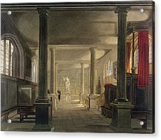 Interior Of The Law School, Cambridge Acrylic Print