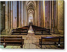 Interior Of The Monastery Da Batalha Acrylic Print