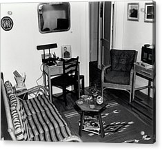 Interior Of Typical House Acrylic Print by Los Alamos National Laboratory/science Photo Library