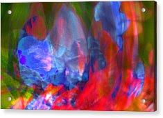 Acrylic Print featuring the digital art Interior by Richard Thomas