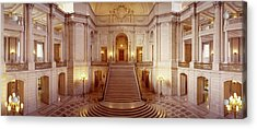 Interiors Of A Government Building Acrylic Print