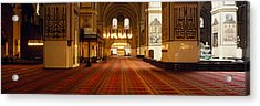 Interiors Of A Mosque, Ulu Camii Acrylic Print