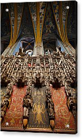 Interiors Of Cathedrale Sainte-cecile Acrylic Print