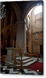 Interiors Of The Church Of St Acrylic Print