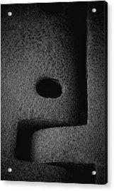 Interlock Acrylic Print by Odd Jeppesen