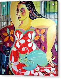 Interlude Acrylic Print by Marlene LAbbe
