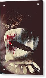Internal Interrogation Acrylic Print