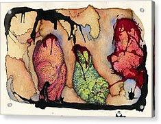 Internal Landscape Eight Acrylic Print by Mark M  Mellon