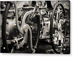 Internal Mechanics Uss Bowfin Acrylic Print by Douglas Barnard