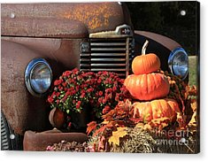 International Autumn Acrylic Print