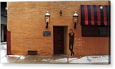 International Exports Ltd Secret Entrance To The Safe House In Milwaukee Acrylic Print by David Blank