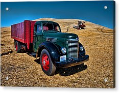 International Farm Truck Acrylic Print