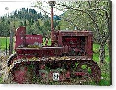 International Harvester Acrylic Print by Tikvah's Hope