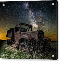 International Milky Way Acrylic Print