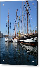 International Sailing Festival In Bergen Norway 2 Acrylic Print
