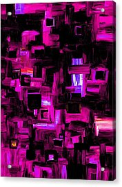 Interplay Acrylic Print by Jennifer Galbraith