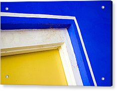 Interplay Of Colors And Geometry Acrylic Print