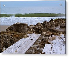 Acrylic Print featuring the photograph Intersecting Force by Francis Trudeau