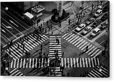 Intersection ( Crossing Alternatives ) Acrylic Print by C.s. Tjandra